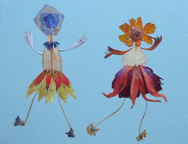 Flower Buds dancing