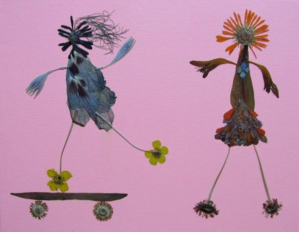 Flower Buds skating