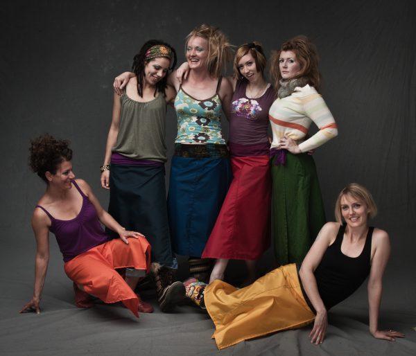 g skirt – the wrapover rainskirt